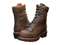 Timberland 9 Composite Safety Toe Waterproof Insulated Logger Brown Leather Men's Work Boots