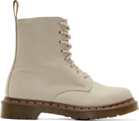 Dr. Martens Ivory Soft Leather Pascal Boots