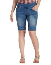 Jag Ainsley Bermuda Denim Shorts Medium Indigo