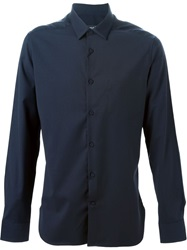 Pringle Of Scotland Classic Shirt Blue