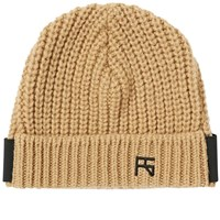 Raf Simons Atari Knit Beanie Brown