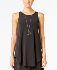 Alfani Racerback Jersey Tunic Tank Only At Macy's Pure Cinder