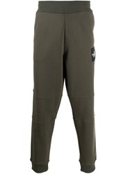 The North Face Logo Patch Track Pants Green