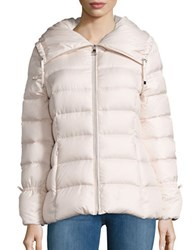 Karl Lagerfeld Packable Quilted Puffer Coat Mist