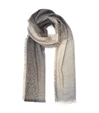 Reiss Sara Degrade Scarf In Grey