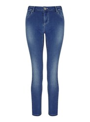 Miss Selfridge Sofia Mid Blue Denim