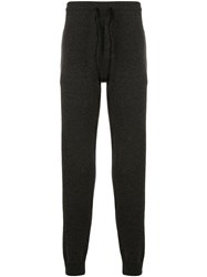 James Perse Tapered Track Pants Grey