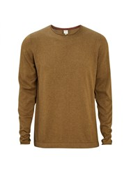 Bench Men's Xenial Crew Neck Jumper Beach Brown