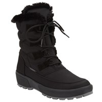John Lewis Antarctica Water Repellant Ankle Boots Black