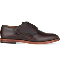 Hudson Clay Derby Shoes Wine