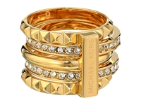 Michael Kors Collection Pave Stackable Pyramid Ring