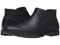 Steve Madden Kelen Black Leather Men's Slip On Shoes