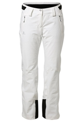 Salomon Iceglory Waterproof Trousers White