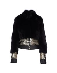 Versus Coats And Jackets Fur Outerwear Women