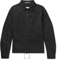 Oamc Wool Blend Blouson Jacket Black