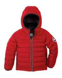 Canada Goose Bobcat Hooded Puffer Coat Size 2 7 Red