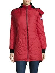 Canada Goose Stellarton Down Coat Red