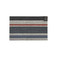 Chilewich Mixed Stripe Shag Rug Montauk 46X71cm