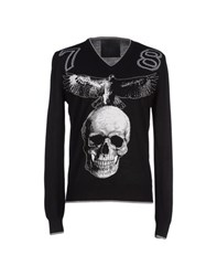 Philipp Plein Homme Knitwear Jumpers Men Black