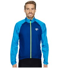 Pearl Izumi Elite Barrier Cycling Jacket Blue Depths Bel Air Blue Men's Coat