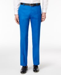 Inc International Concepts Men's Stretch Slim Fit Pants Only At Macy's Laser Blue