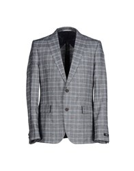 Boss Black Suits And Jackets Blazers Men Light Grey