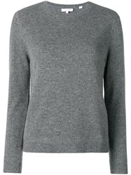 Chinti And Parker Fitted Cashmere Sweater Grey