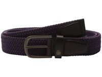 Ted Baker Lastlaf Block Colour Elastic Belt Purple Men's Belts
