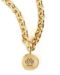 Paw Stamp Charm Heather Moore Gold
