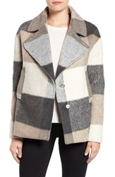 Laundry By Shelli Segal Women's Plaid Swing Coat