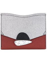 Proenza Schouler Small Curl Clutch Women Leather One Size Red