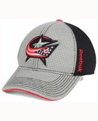 Reebok Columbus Blue Jackets Travel And Training Flex Cap Gray