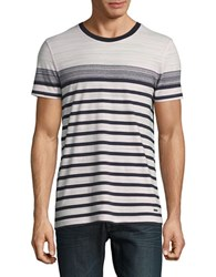 Hugo Boss Striped Tee Light Pink