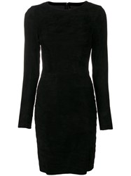 Drome Perfectly Fitted Short Dress Black