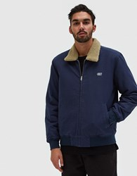Obey Clubber Jacket In Navy