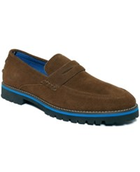 Nautica Belay Penny Loafers Men's Shoes Brown