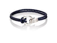 Salvatore Ferragamo Men's Double Band Bracelet Nude