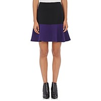 Lisa Perry Women's Colorblocked Miniskirt No Color