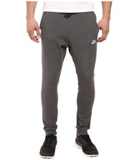 Nike Club Jersey Jogger Pant Charcoal Heather White Men's Workout Gray