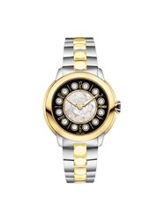 Fendi Ishine Watch Gold Topaz Metal Metallic