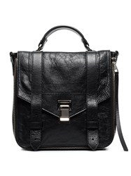 Proenza Schouler Black Ps1 Leather Backpack