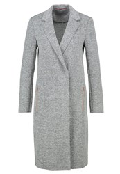 Calvin Klein Jeans Bliss Classic Coat Grey Mottled Grey