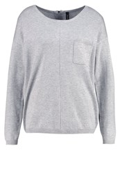 Soyaconcept Dollie Jumper Light Grey Melange Mottled Light Grey