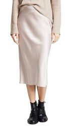 Alexander Wang T By Wash And Go Woven Skirt Clay