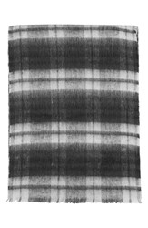 Topshop Women's Brushed Check Scarf