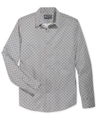 American Rag Men's Severin Geo Print Shirt Only At Macy's Pale Waters