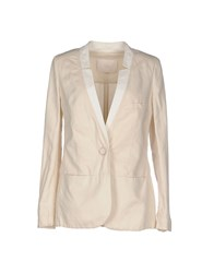Tela Suits And Jackets Blazers Women Beige