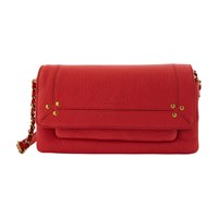 Jerome Dreyfuss Charly Small Crossbody Bag Rouge