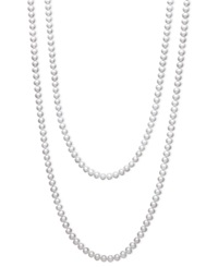 54 Inch Belle De Mer Cultured Freshwater Pearl Strand Necklace 7 8Mm