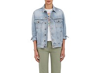 Fiorucci Women's The Nico Denim Jacket Light Blue